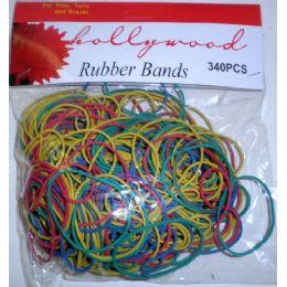 72 Bulk 340 Pack Assorted Rubber Bands