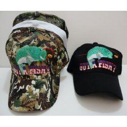 24 Units of Got A Fish Hat - Hunting Caps
