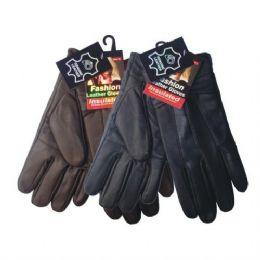 48 Bulk Winter Glove Genuine Leather Women