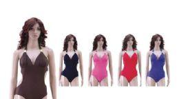 36 Units of Ladies Bathing Suit On Hanger - Womens Swimwear