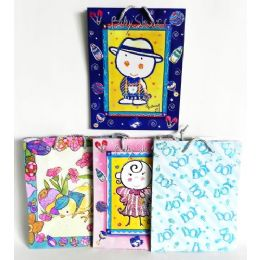 144 Units of Baby Shower Gift Bag Assortment Medium Size - Gift Bags
