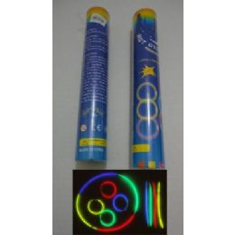 """40 Units of 50pc 8"""" Glow Sticks With Connecters - LED Party Supplies"""