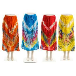 24 Units of Indian Bohemian Skirt - Womens Skirts