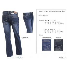 """12 of Mens Trendy Fashion Jeans Inseam 32"""""""