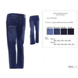 12 of Mens Trendy Fashion Jeans Size Scale 32-42