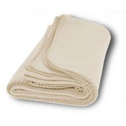 30 Units of Fabric: Polar Cream Color Fleece - Fleece & Sherpa Blankets