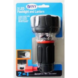 12 Units of Led Flashlight And Lantern In 1 - LED Party Supplies