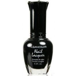 60 Units of Klean Color Nail Poilsh Number 05 Black - Nail Polish