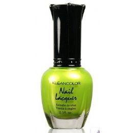 60 Units of Klean Color Nail Poilsh Number 12 Melon Green - Nail Polish