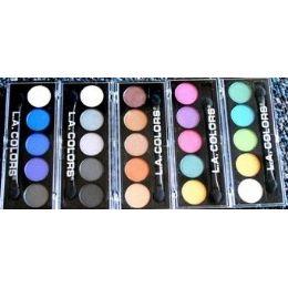 48 Bulk Eye Shadow Compacts La Colors Mixed Colors