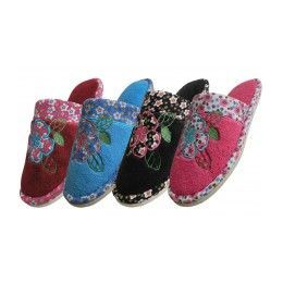 48 Units of Slippers With Fun Prints! - Women's Slippers