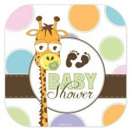 """144 Units of Baby Shower 7"""" Plate 8ct. - Baby Shower"""