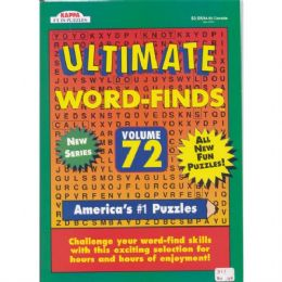 80 Units of Ultimate Word Find - Crosswords, Dictionaries, Puzzle books