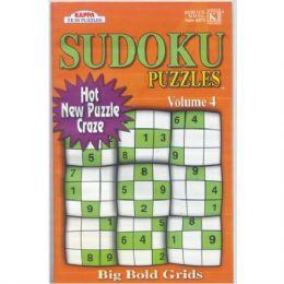 72 Units of Sudoku Puzzles Big Bold Grids Asst. - Crosswords, Dictionaries, Puzzle books