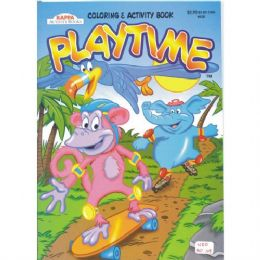 80 Units of Play Time Color & Activity Book - Crosswords, Dictionaries, Puzzle books