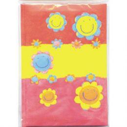 72 Bulk Address Book, 4.5 X 6 , Glitter Flowers, Asst. Designs