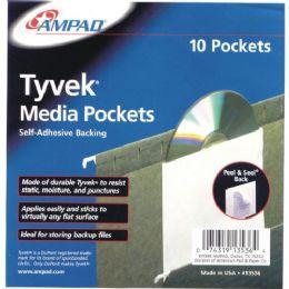 24 Bulk Self Adhesive Cd Pockets
