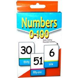 48 Bulk Flash Cards - Number 1-100