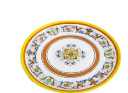 24 Units of 14 Inch Round Plate - Plastic Bowls and Plates