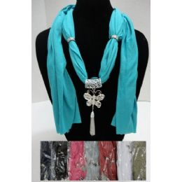 96 of Scarf NecklacE-Butterfly With Tassels 70