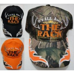 """24 Units of It""""s All About The Rack Hat - Hunting Caps"""