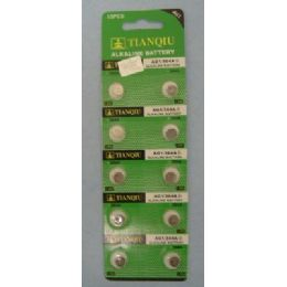 60 Units of 10 Pack Ag1 Battery - Batteries