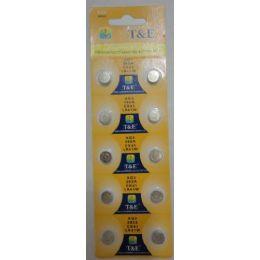 60 Units of 10pk Ag3 Batteries - Batteries