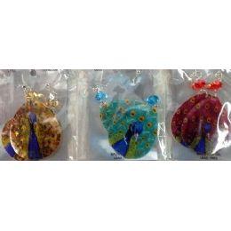 120 Units of Teardrop Shape Shell Peacock Earring - Earrings