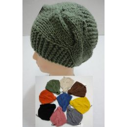 48 Bulk Hand Knitted Ear Band [cablE-Knit] Loop