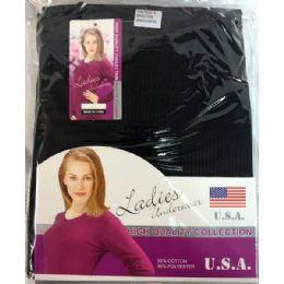24 of Lady's Thermal Wear Set (shirt & Pants)