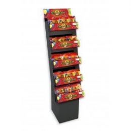 5 Shelf Latex Bln Asst Flr Dsp 180ct - Displays & Fixtures