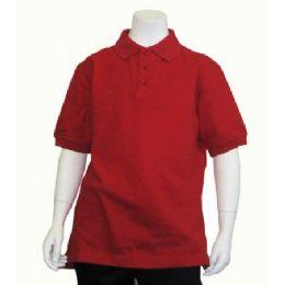 24 Units of Boys School Uniform Polo Shirt - Boys School Uniforms