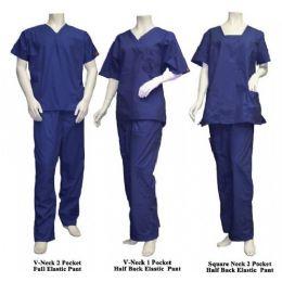 25 Units of 2 Pc Set Scrub Set Navy Only - Nursing Scrubs