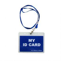 180 Units of Id Holder Clear Plastic - ID Holders