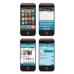 48 Units of Smart Phone Hologram Bookmark - Crosswords, Dictionaries, Puzzle books