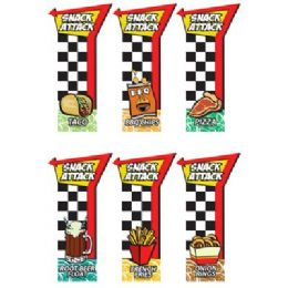 96 Units of Snack Attack Scented Bookmark - Crosswords, Dictionaries, Puzzle books