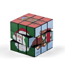 48 Units of Friends Magic Christmas Cube Puzzle - Puzzles