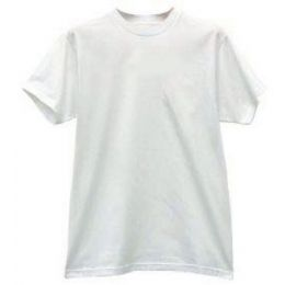 24 Bulk Famous Brand Men's 3pk White Crew T-Shirts