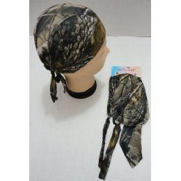 96 Units of Skull Cap-Hardwoods Camo - Sun Hats