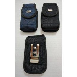 24 of Black/navy Velcro Cell Phone Case
