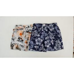 36 Units of Toddlers Boys Brand Name Swim Wear Trunks With Cargo Pockets And Lining - Boys Shorts