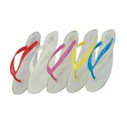 36 Units of Women's Jelly Flip Flops *asst. Color - Boys Flip Flops & Sandals