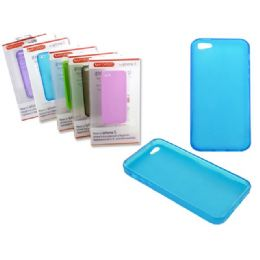 "144 of Iphone 5 Tpu Cover 2.4"" X5"" Clear Black,blue,white,purple"