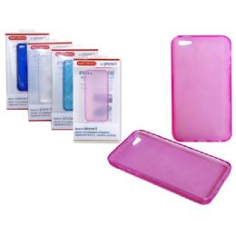 """144 of Iphone 5 Tpu Cover 2.4"""" X5"""" Black,red,pink Clr"""
