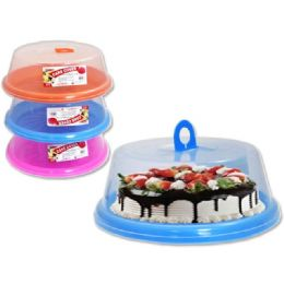 48 Units of Cake Cover With Base - Food Storage Containers