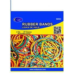 96 Bulk Rubber BandS- Assorted Colors