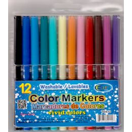 48 Bulk Water Color Markers 12ct (2 Inners Of 24)