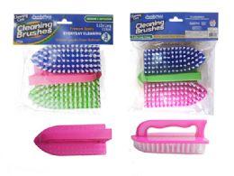 96 Units of Brush 3pc Multi Purpose Pl. - Scouring Pads & Sponges