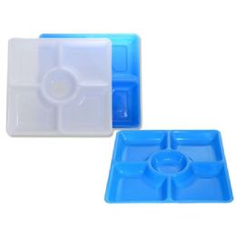 72 Units of 5 Section Square Serving Tray - Serving Trays