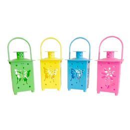 48 Units of Wholesale Led Hanging Lantern - LED Party Supplies